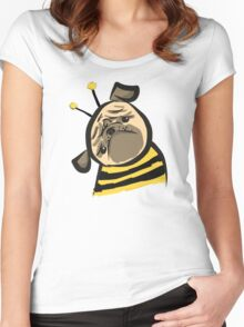 Bumble Pug Women's Fitted Scoop T-Shirt