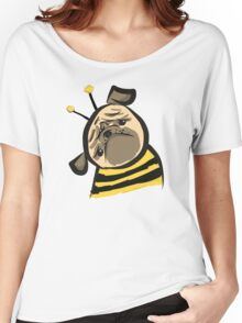 Bumble Pug Women's Relaxed Fit T-Shirt