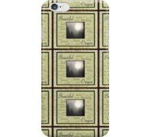 misty oregon morning 2 iPhone Case/Skin