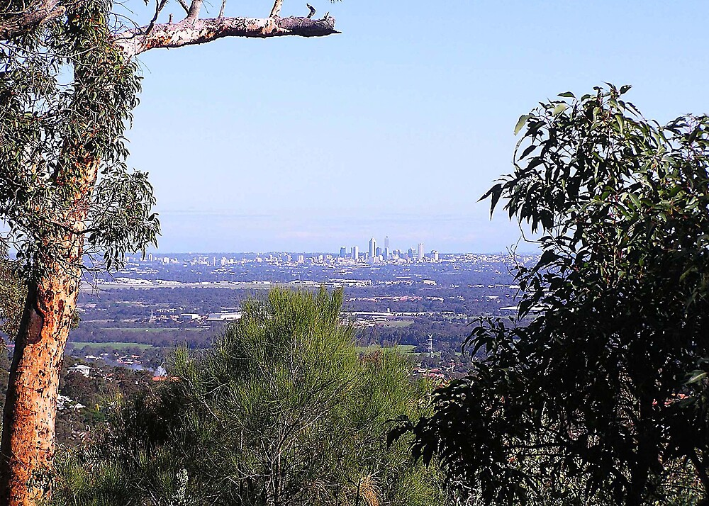 Perth from the hills by georgieboy98