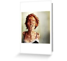 Complexity in a jaded world Greeting Card