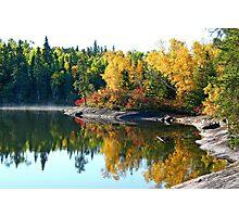 September at Caddy Lake Photographic Print