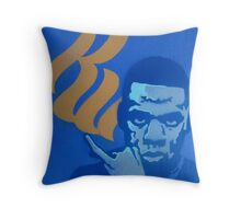 jay-z, stencil Throw Pillow