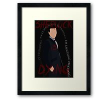 Jim Moriarty (Season 3, Episode 3) Framed Print