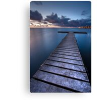 T-Jetty Canvas Print
