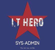 I.T HERO - SYSADMIN.. by AdeGee