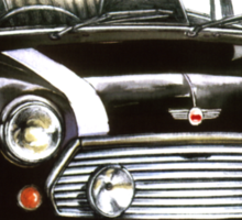 1991 Rover Mini Cooper  Sticker