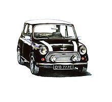 1991 Rover Mini Cooper  Photographic Print
