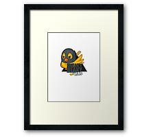 Sneaky Beaky Like Framed Print