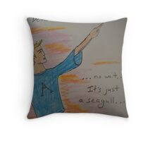 Deus ex Machina Throw Pillow