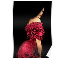Woman in a Red Dress Poster