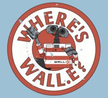 Where's Wall-e? One Piece - Short Sleeve