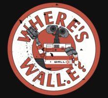 Where's Wall-e? One Piece - Long Sleeve