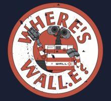 Where's Wall-e? Kids Tee