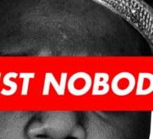 Biggie Smalls 'Trust Nobody' (BLK&WHT) Sticker