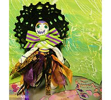 Bride of Halloween Doll Photographic Print