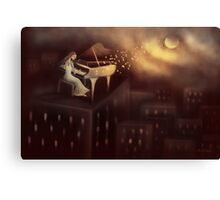 Moonlight Symphony Canvas Print