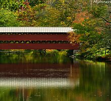 #613    Covered Bridge Of Gettysburg  #1 by MyInnereyeMike