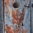 Old door - Camino de Santiago by Hilda Rytteke
