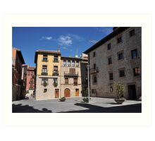 Viana - Camino de Santiago Art Print