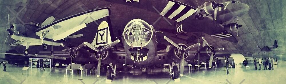 American hanger panorama by C.J. Jackson