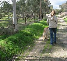 Walking The Dog by Jenny Brice