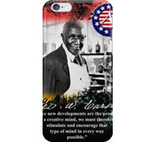 george washington carver iPhone Case/Skin