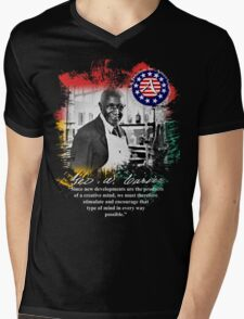 george washington carver Mens V-Neck T-Shirt