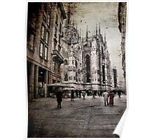 Memories of a Milan Winter Poster
