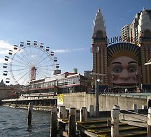 Just for fun Luna Park Sydney by Ken Tregoning
