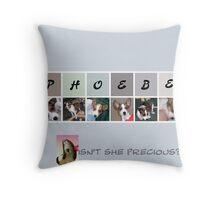 Little Phoebe Throw Pillow