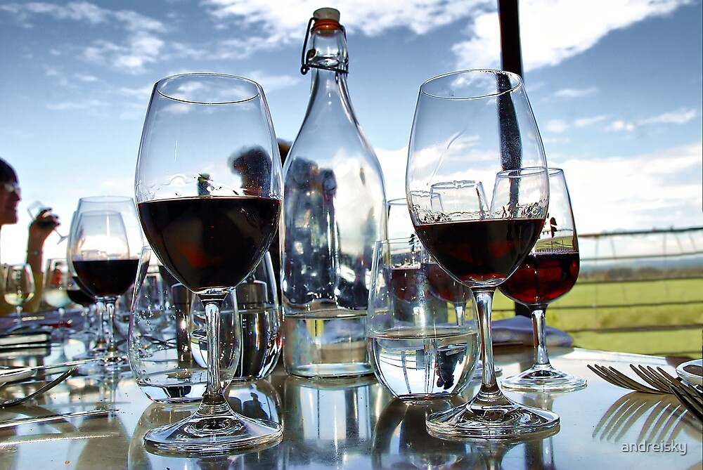Wine tasting at Bimbadgen Estate by andreisky