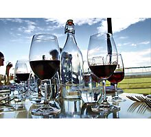 Wine tasting at Bimbadgen Estate Photographic Print