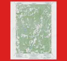 Maine USGS Historical Map East Pittston 806673 1970 24000 One Piece - Short Sleeve