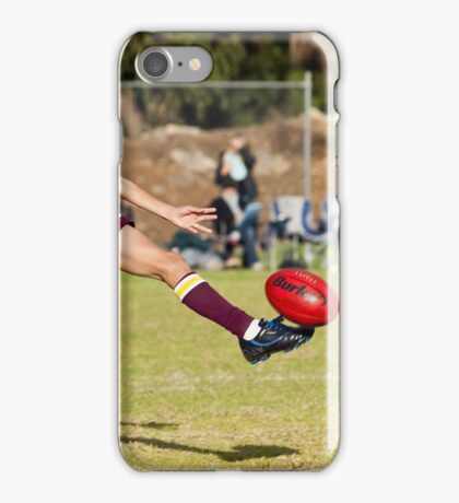 The Drop Punt iPhone Case/Skin