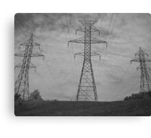 The Electrical Field Canvas Print