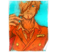 One Piece - Sanji [no text] Poster