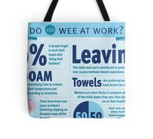 Wee at Work Infographic  Tote Bag