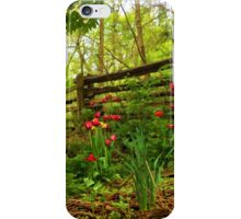 Fresh and Colorful Hillside - Impressions Of Spring iPhone Case/Skin