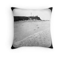 Lighthouse, Panmure Island Throw Pillow