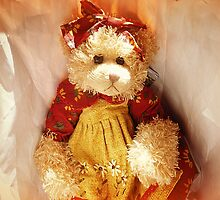 Lovely Teddy Bear dressed for a Party by EdsMum