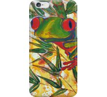 Frog and Bamboo iPhone Case/Skin