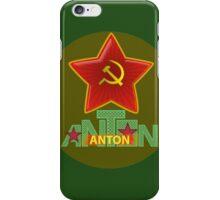 Anton Army iPhone Case/Skin
