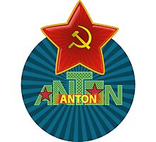 Anton Name Photographic Print