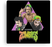 flatbush zombies crew colour Canvas Print