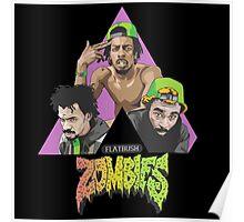 flatbush zombies crew colour Poster