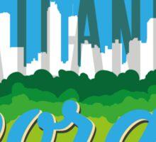 Downtown Atlanta Georgia Sticker