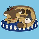 Cat Bus Snuggle by Steampunkd