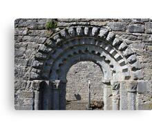 Dysert o Dea church arch Canvas Print