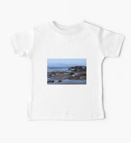 Rock Ponds On Sandy Beach Baby Tee
